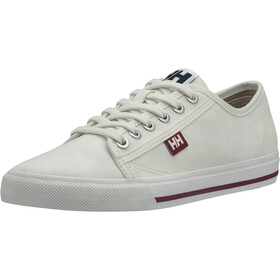 Helly Hansen Fjord Canvas V2 Shoes Women Off White/Beet Red/Navy